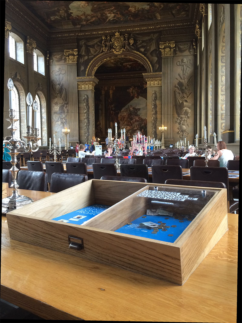old royal naval college temp exhibition